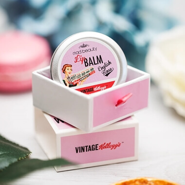 Kellogg's 50's Vintage Lip Balm - English Rose