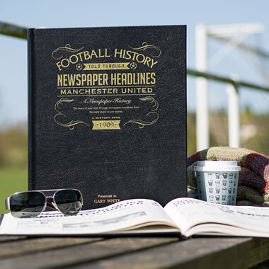 Personalised Football Team History Book Deluxe