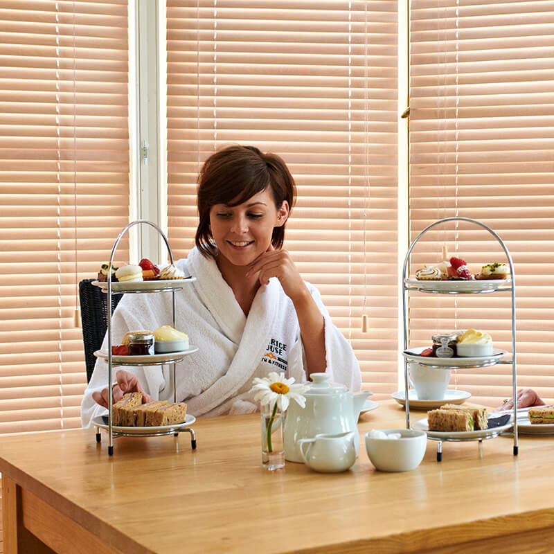2 for 1 Pampering Afternoon Tea and Spa Package at Clarice House Ipswich