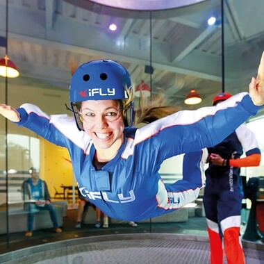 Ifly Indoor Sky Diving for 2