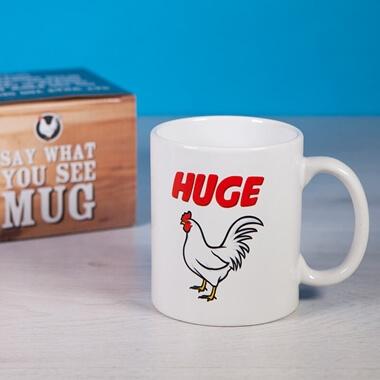 Say What You See Mug - Cock