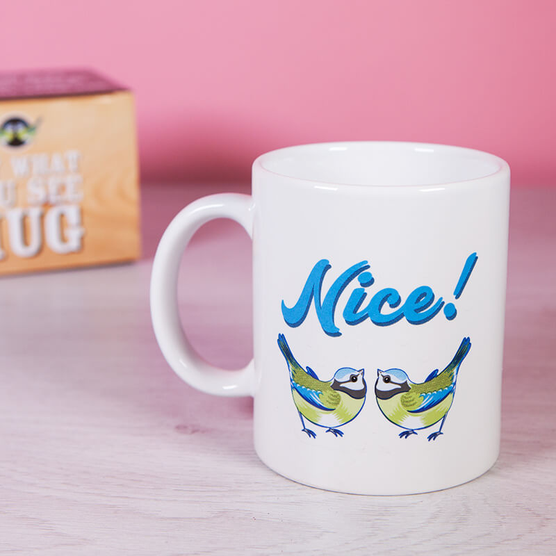 Say What You See Mug - Tits