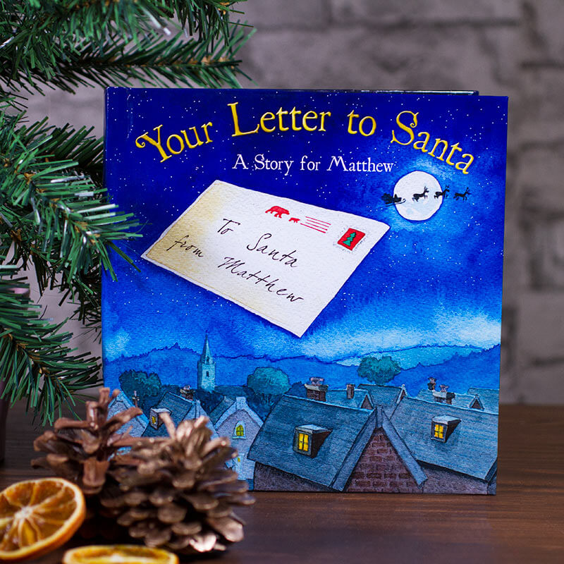 Personalised christmas book your letter to santa buy from personalised christmas book your letter to santa spiritdancerdesigns Gallery