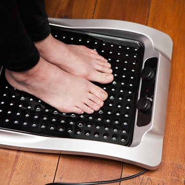 Heated Footplate Massager