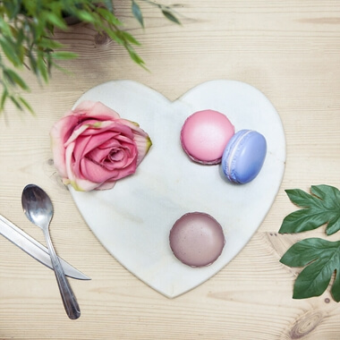 Marble Heart Chopping Board