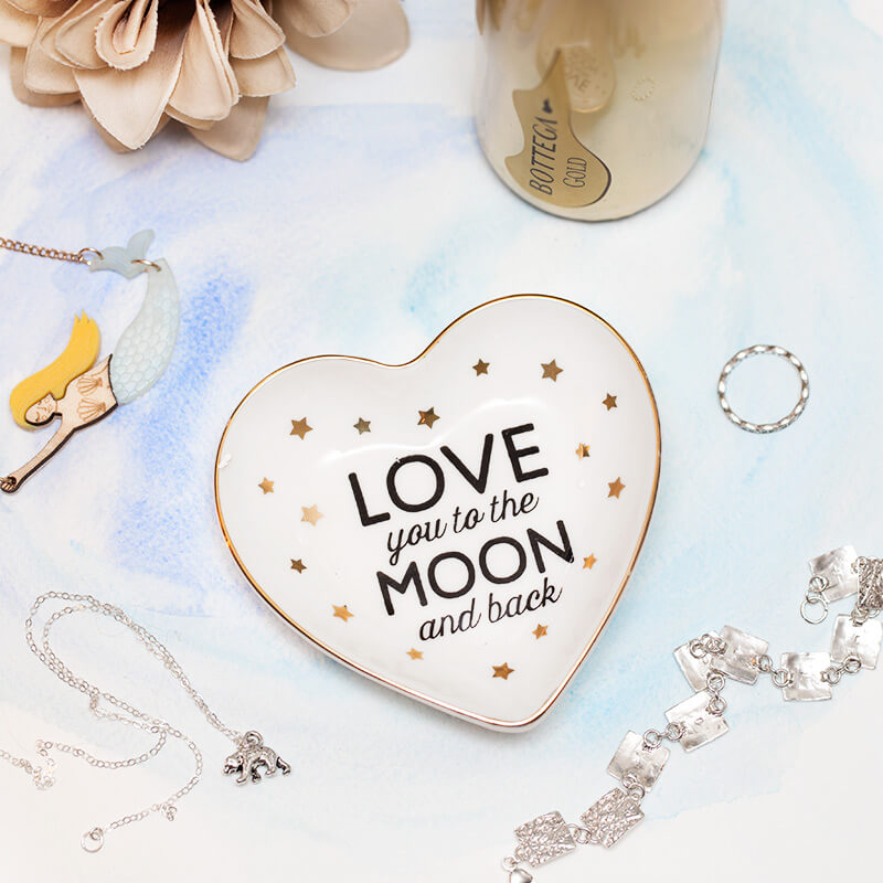 Birthday gift ideas and presents for your girlfriend buy from moon back trinket dish negle