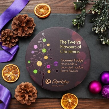 12 Flavours of Christmas Fudge