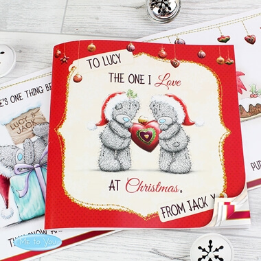 Personalised Me to You 'The One I Love at Christmas' Book