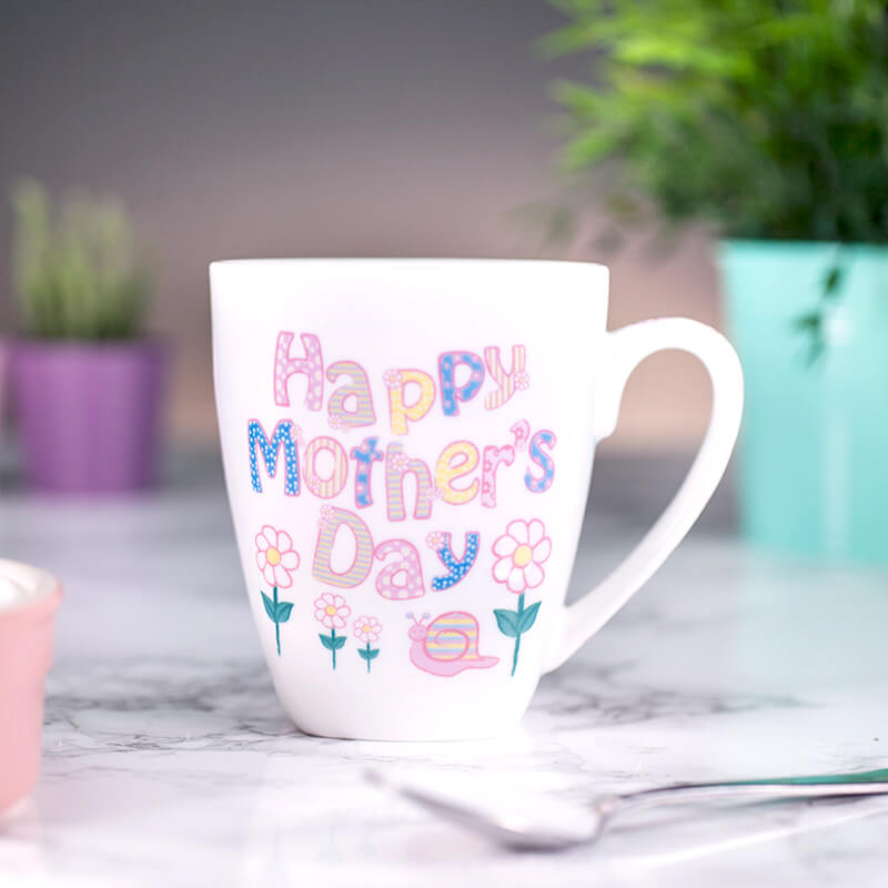 Personalised Daisy Mother's Day Mug