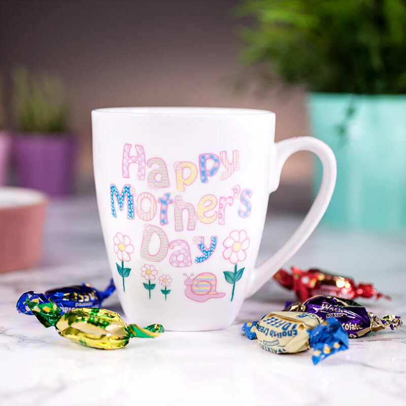 Personalised Daisy Mothers Day Mug