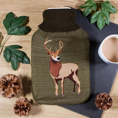 Hot Water Bottle - Stag