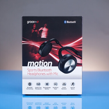 Groov-e Motion Bluetooth Headphones - Black