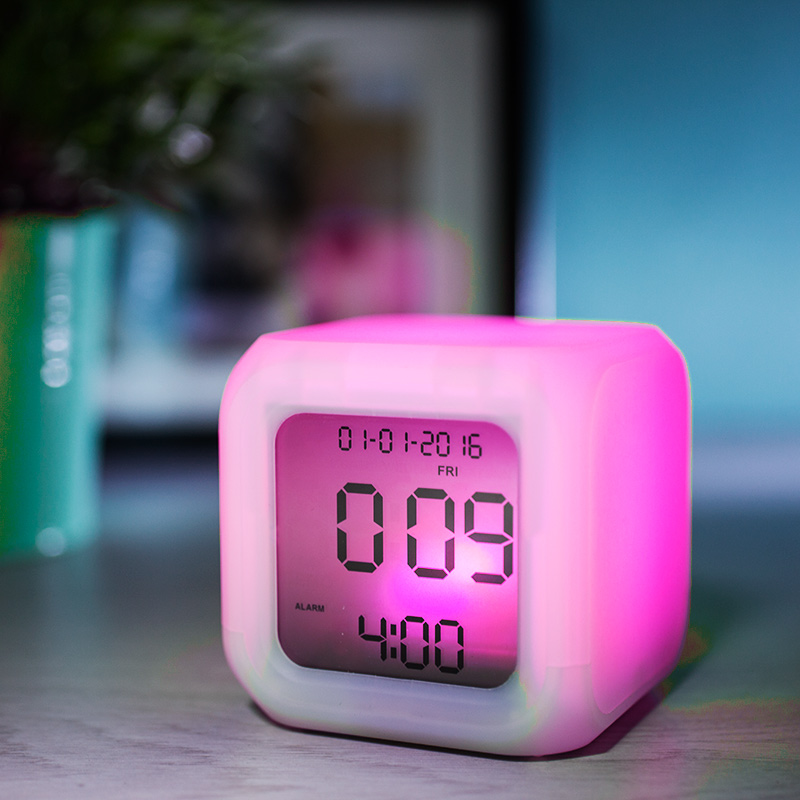 Aurora Ice Colour Changing Alarm Clock Buy From