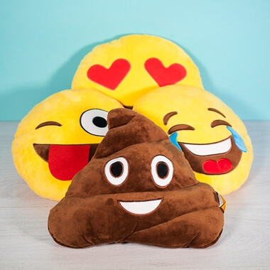 Emoji Cushion - It Happens