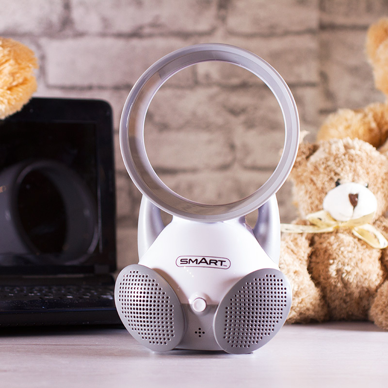 Bladeless Baby Fan With Speakers