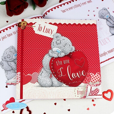 Personalised Me to You 'The One I Love' Book