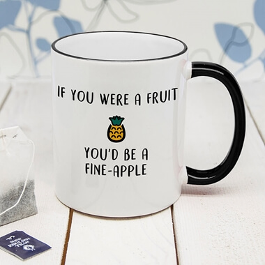 Personalised Fineapple Mug