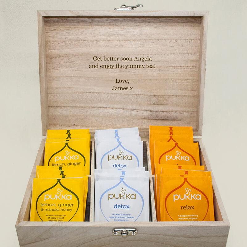 Personalised Favourite Brews Tea Box