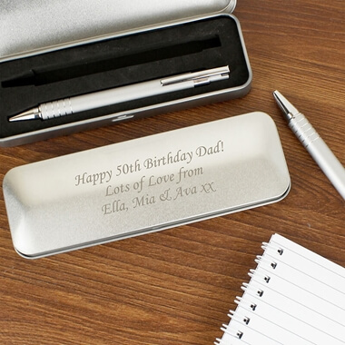 Personalised Pen Set
