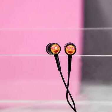 EarMoji's Earphones - Heart Eyes