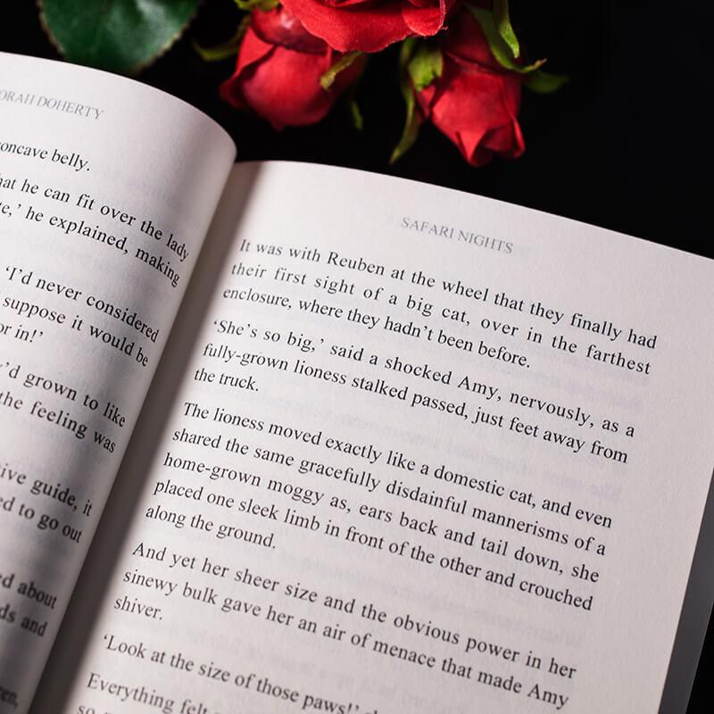 Personalised Adult Romance Novel