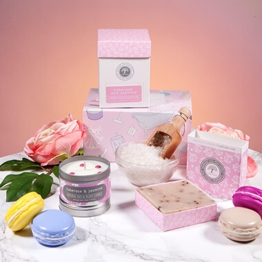 Luxury Spa Gift Box - Tuberose & Jasmine