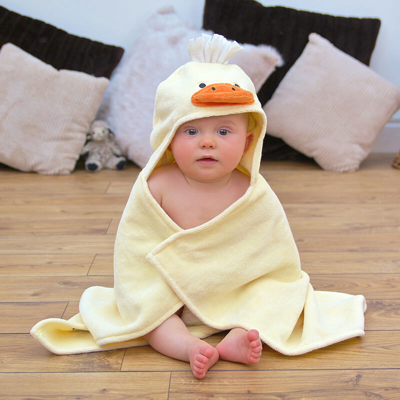 Cuddly Duck Baby Towel