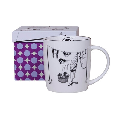 Happy Housewives - Peggy Mug And Gift Box