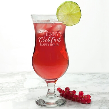 Personalised Large Cocktail Glass