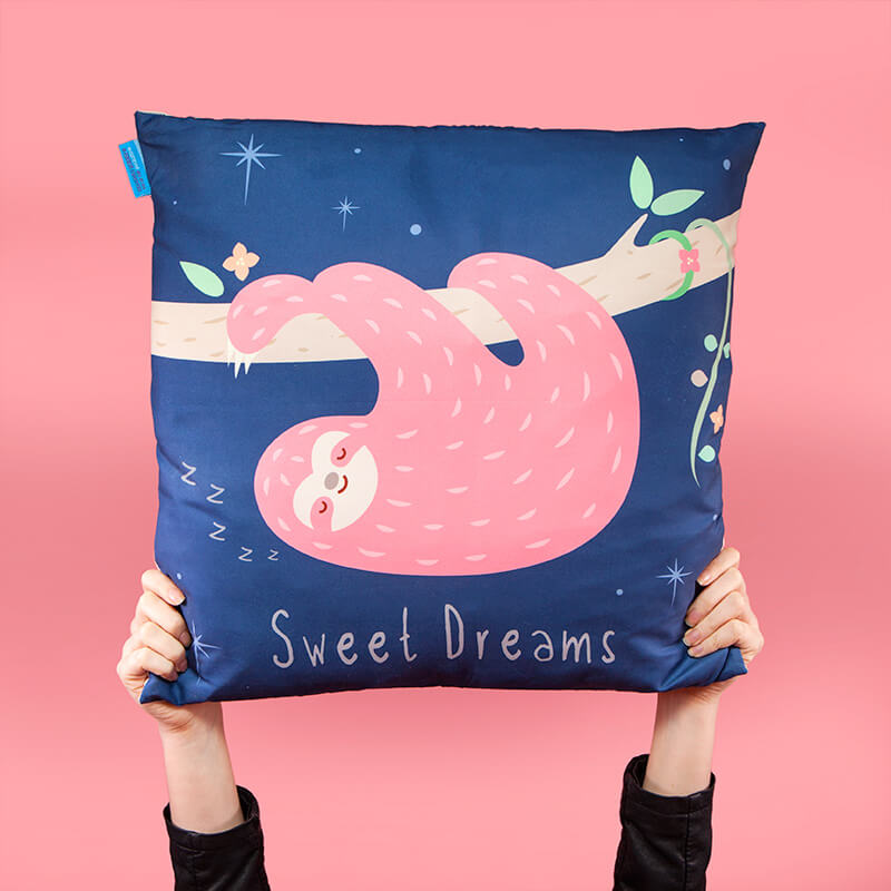 Sloth Sweet Dreams Cushion
