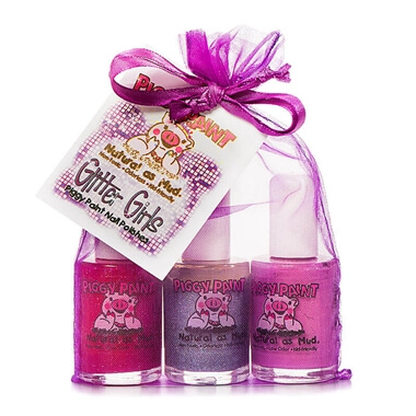 Piggy Paint - Glitter Girls Non-Toxic Nail Polish Set