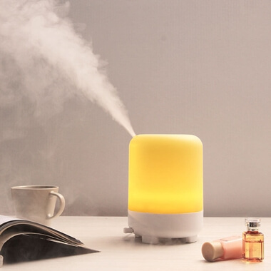 Smart Aromatherapy  Diffuser With Bluetooth LED Lamp Speaker