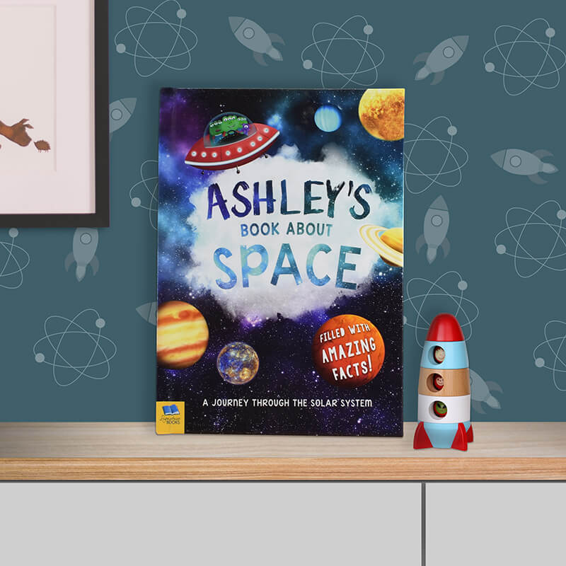 Personalised Book About Space