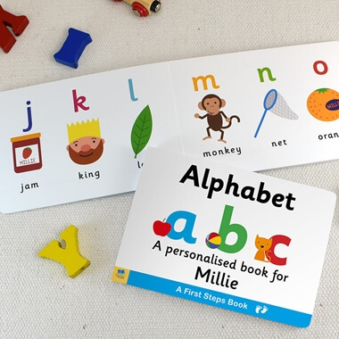 Personalised Alphabet Book