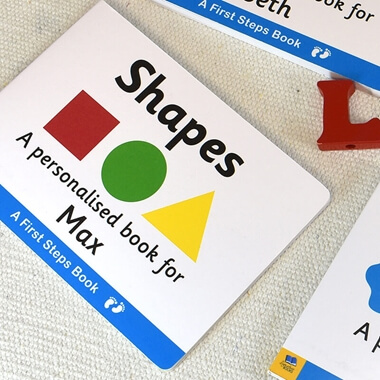 Personalised Shapes Book
