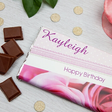 Personalised Chocolate Bar