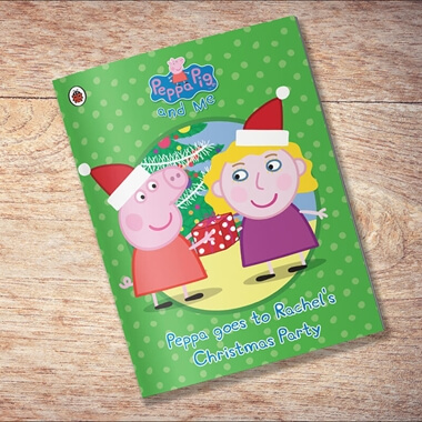 Personalised Peppa Pig - Peppa goes to Your Child's Christmas Party