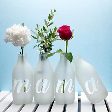 Personalised Letter Vase