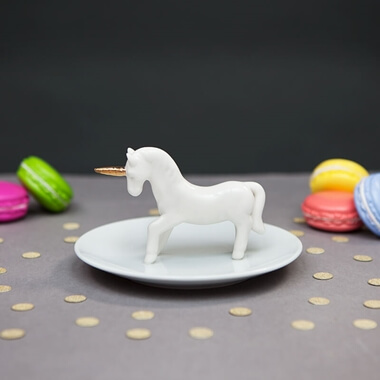 Unicorn Jewellery Dish