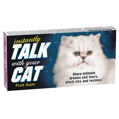 Instantly Talk With Your Cat Gum Chewing Gum