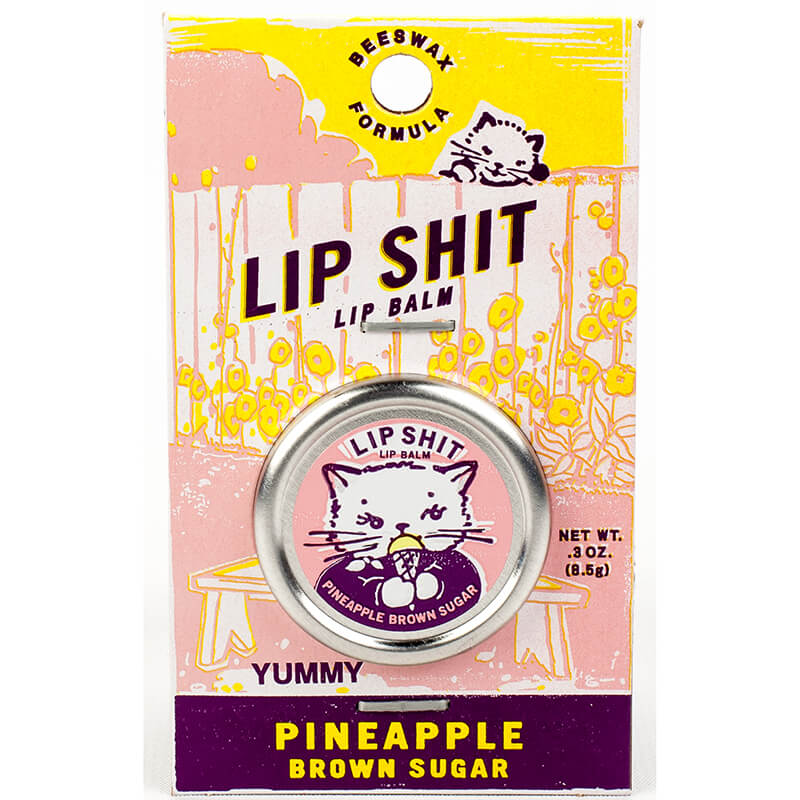 Lip Sh*t - Pineapple Brown Sugar Lip Balm