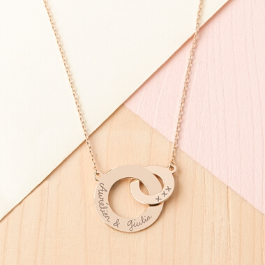 Personalised Intertwined Necklace