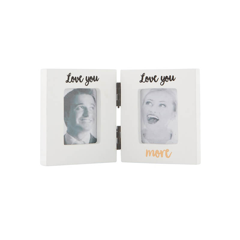 Love You More Photo Frame Buy From Prezzyboxcom