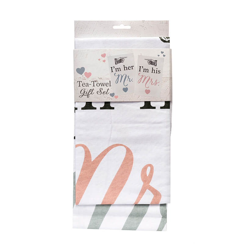 Wedding Tea Towel Set