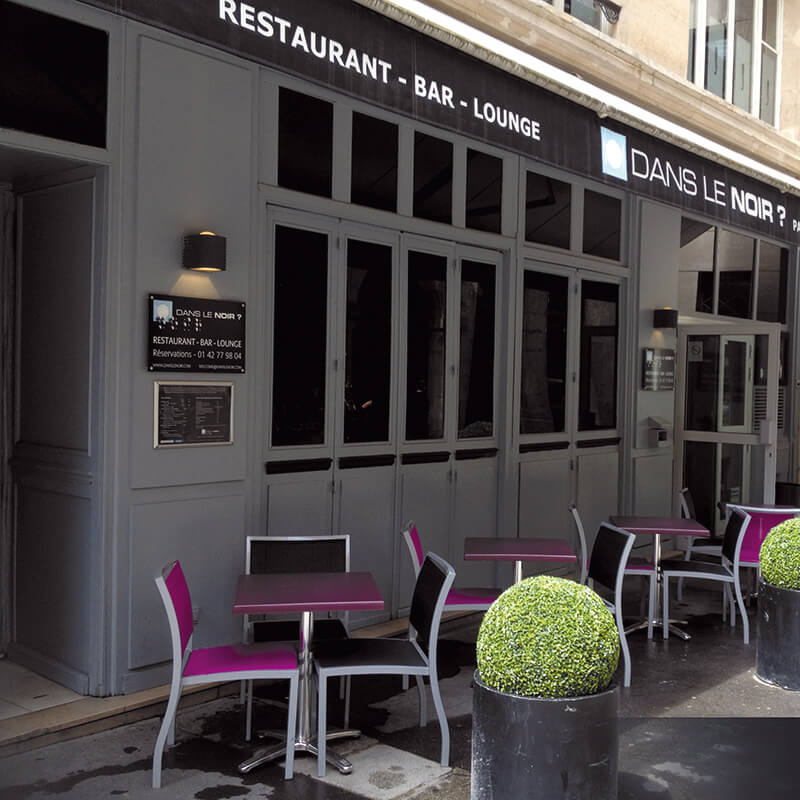 Three Course Dinner with Wine and Cocktails For Two at Dans Le Noir