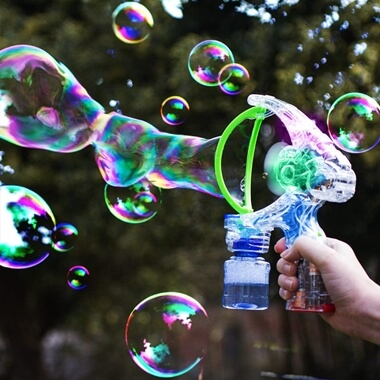 Light Up Giant Bubble Gun