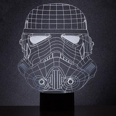 Original Stormtrooper Wireframe Light