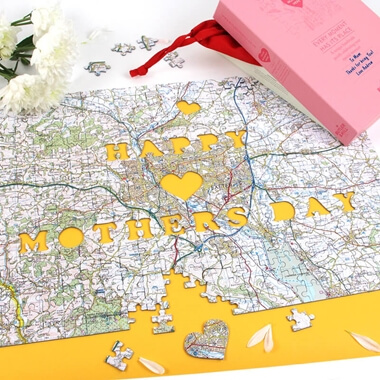 Happy Mother's Day Personalised Jigsaw