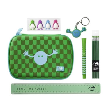 Geometric Back to School Stationery Set - Green