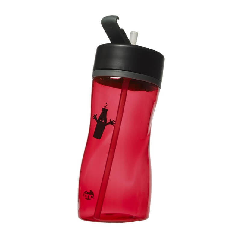 Slanted Water Bottle - Red